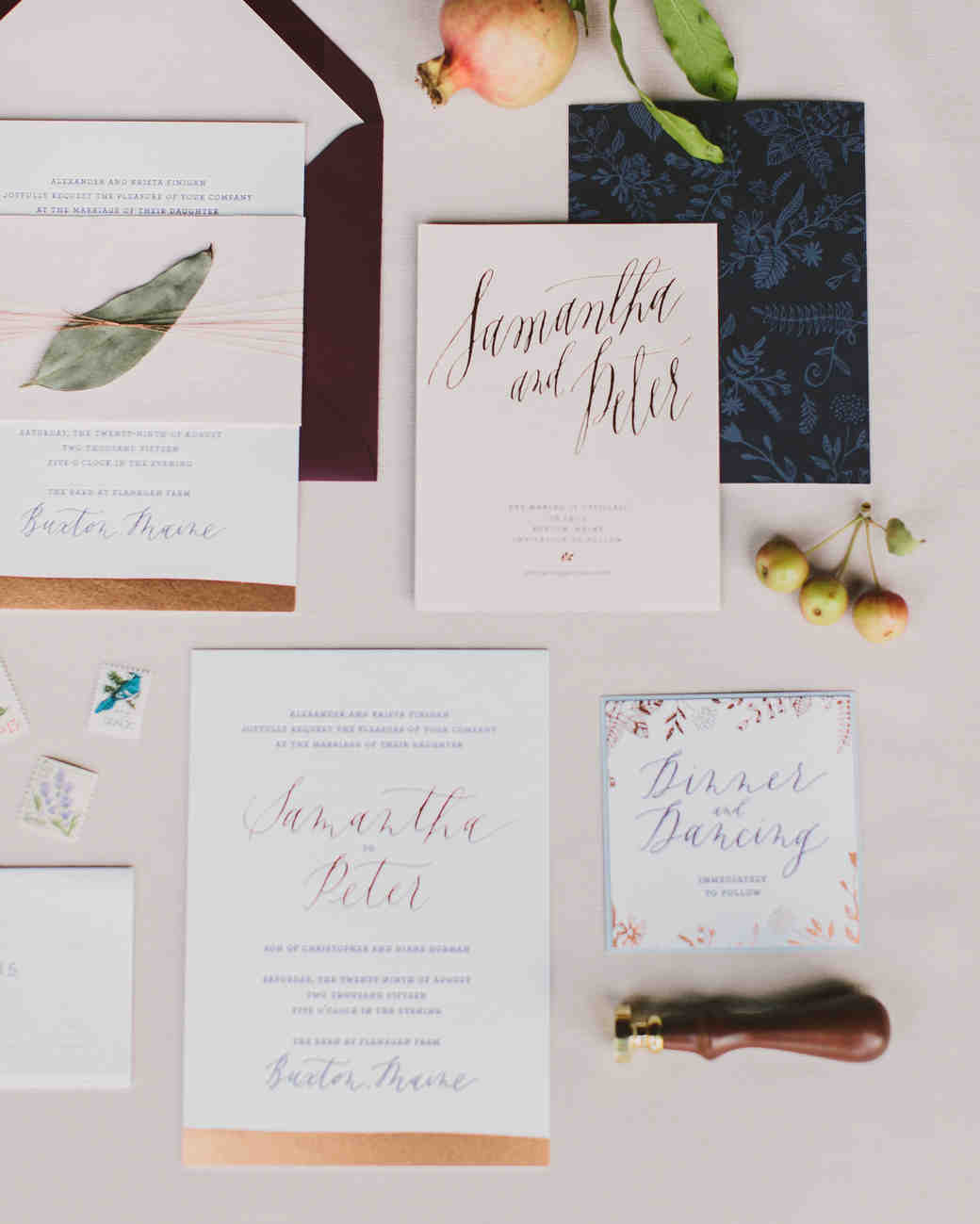 Get creative and one-of-a-kind ideas for your wedding stationery. These original paper goods from real celebrations are sure to inspire your own invites.