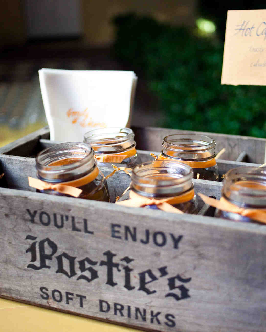 box of mason jars