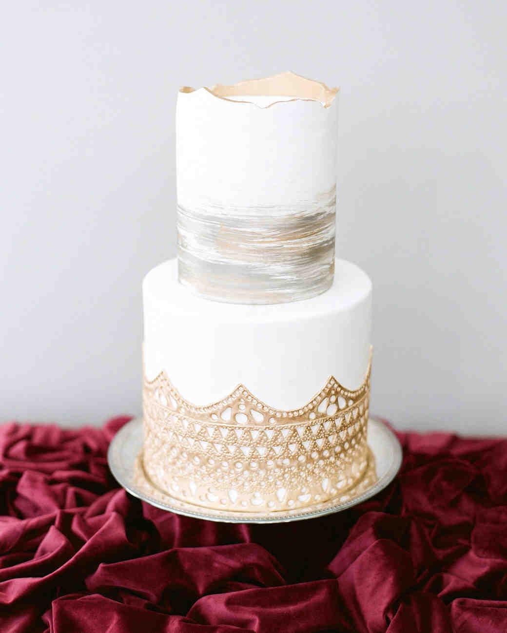 Winter Wedding Cake Designs