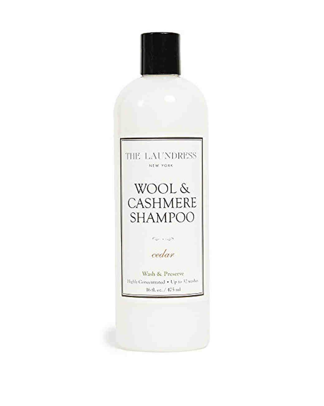 wool anniversary gift shampoo