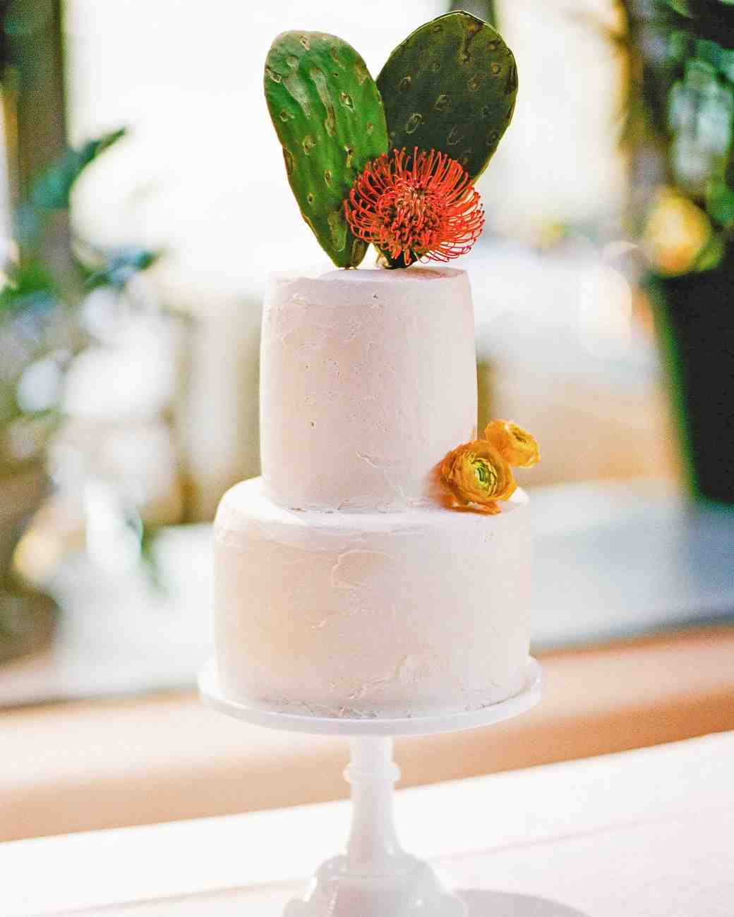 addie alex wedding cake cacti