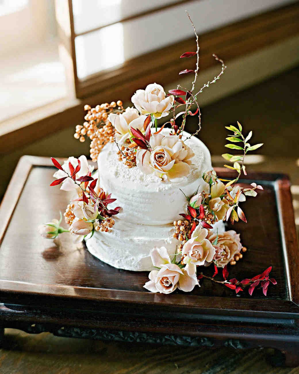 addie richard wedding japan cake