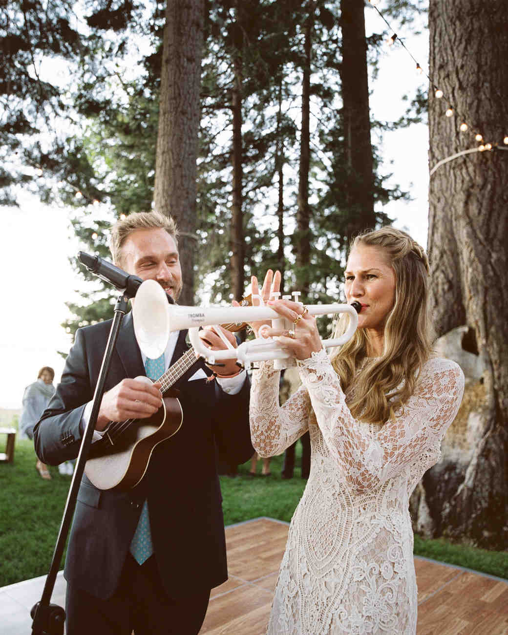 Processional Songs For Weddings: A Summer Camp-Inspired Wedding By Lake Tahoe