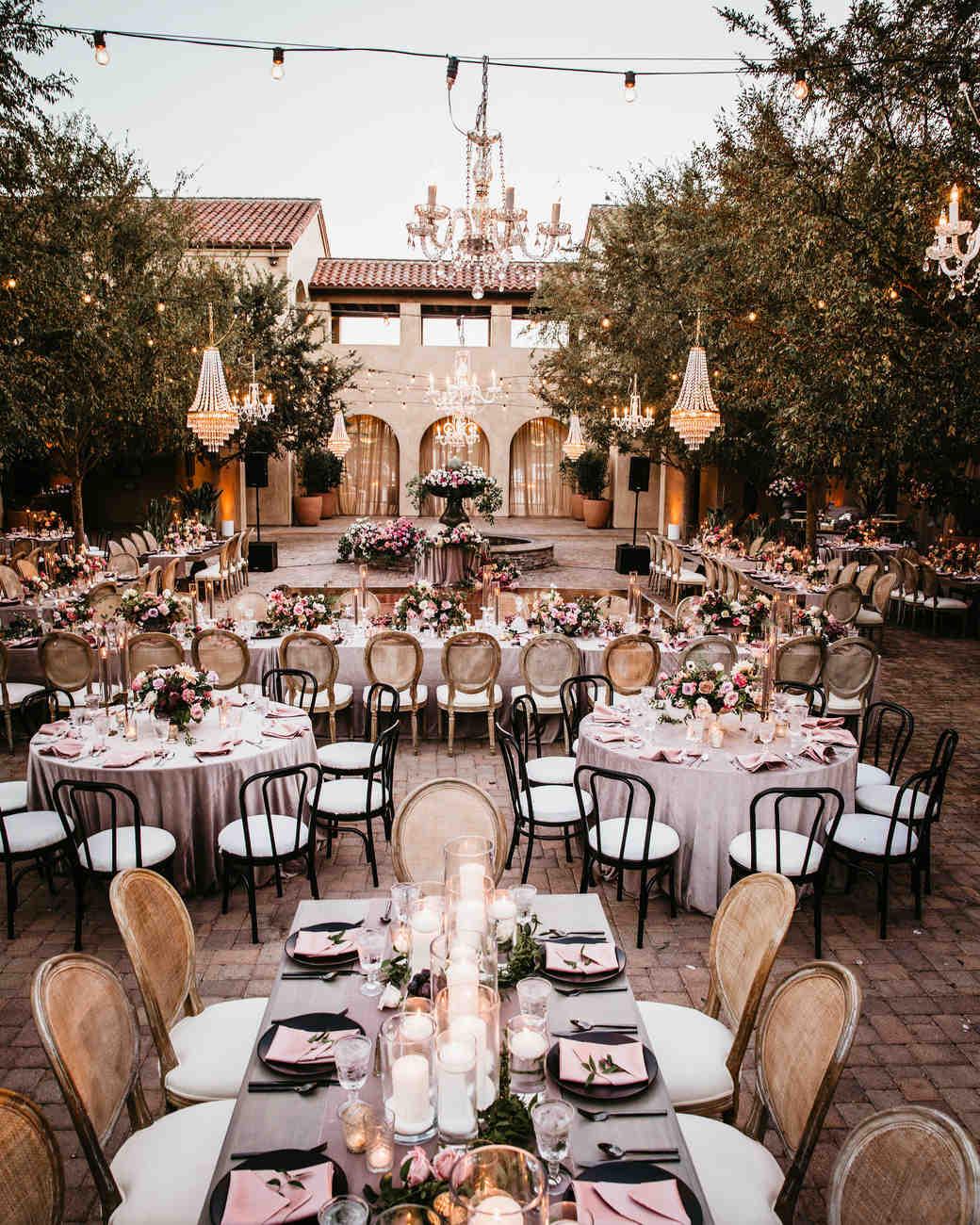 ceremony space venue courtyard reception area
