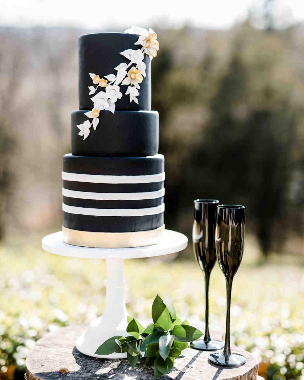 black wedding cake caroline lima sweetfix