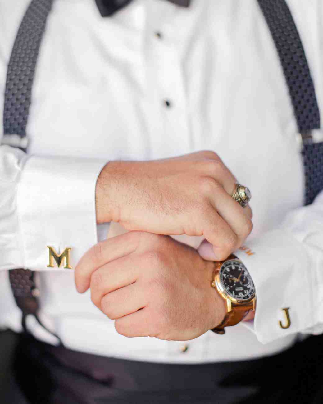 carey jared wedding cufflinks