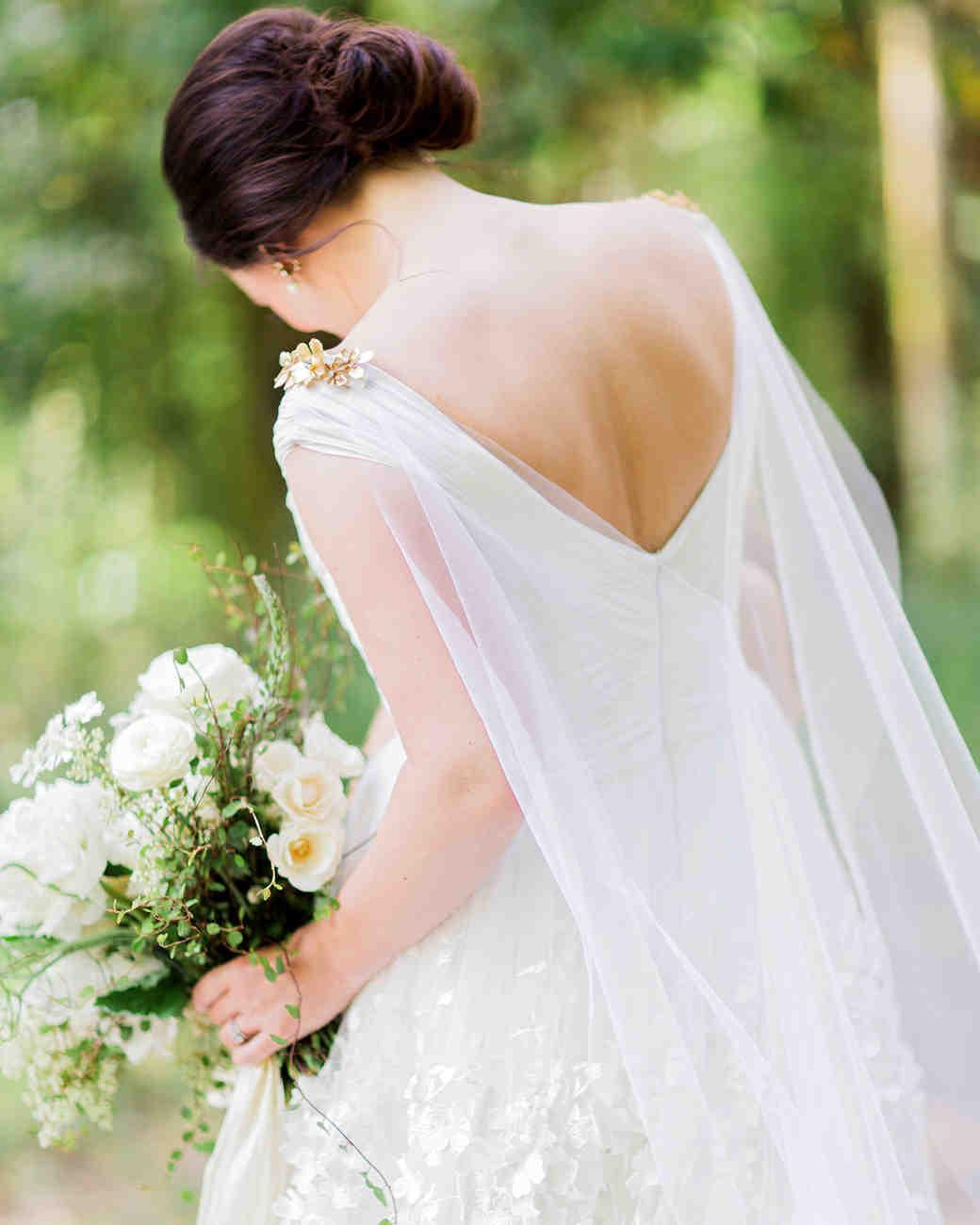 cassandra jason wedding dress and cape