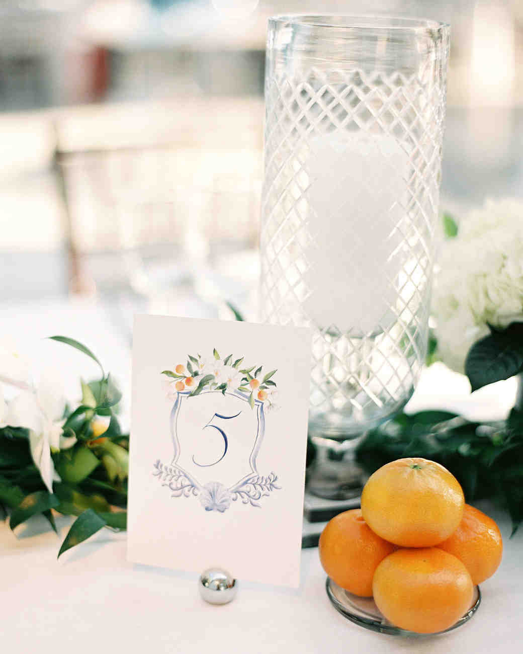 cat denis wedding table number