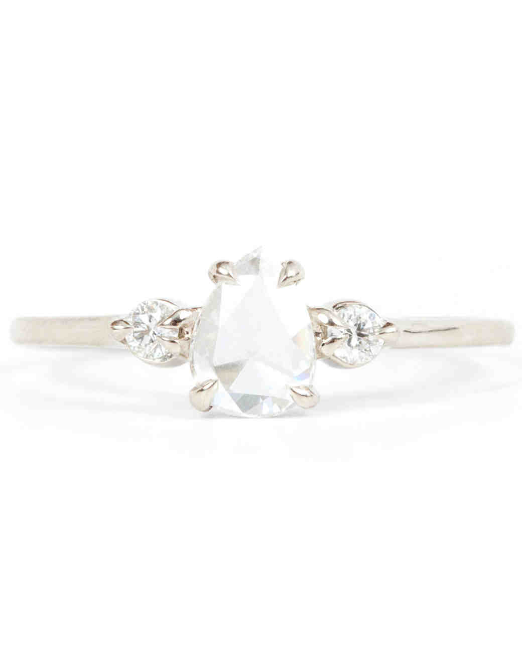 Catbird Pear-Cut Engagement Ring