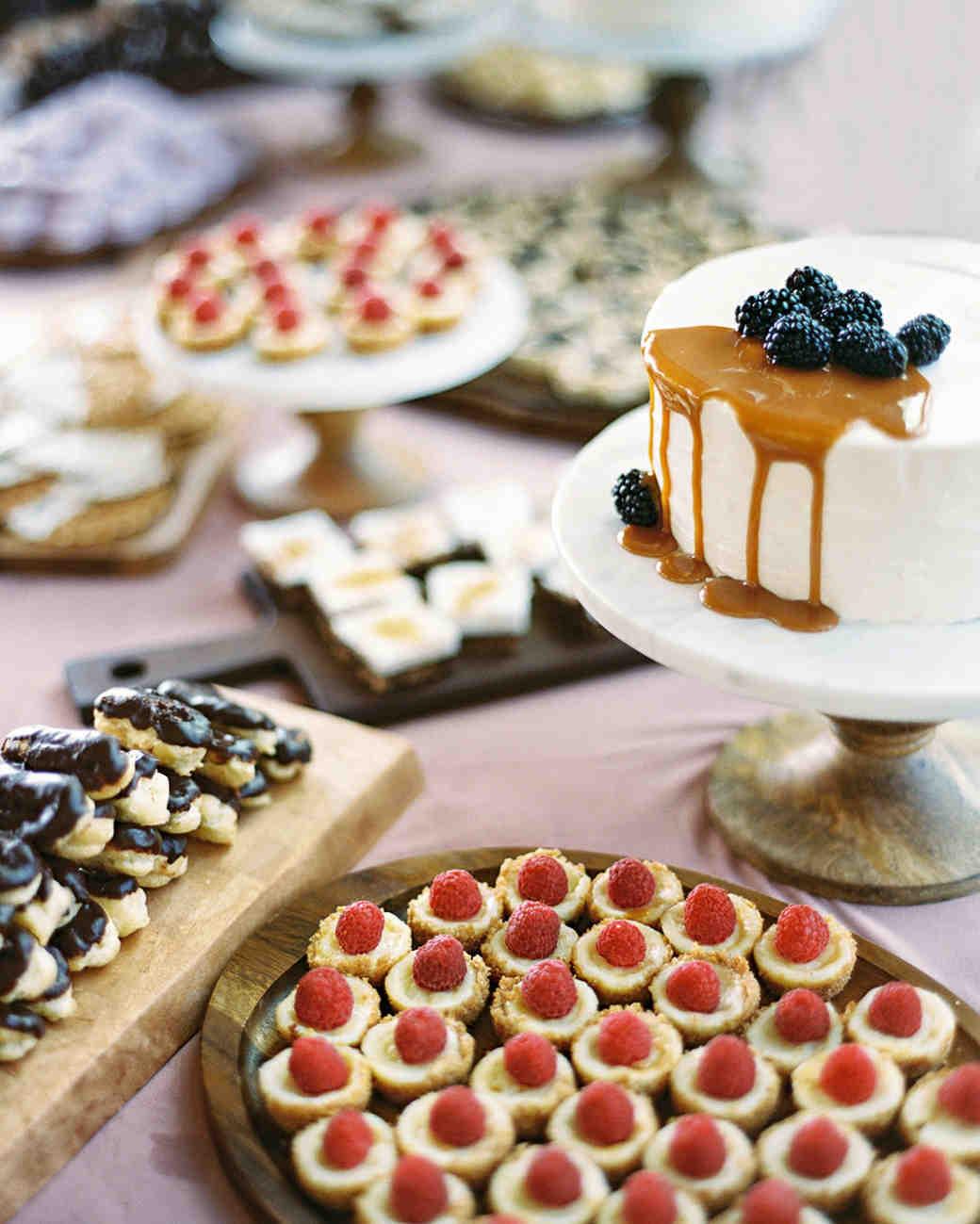 charla jesse wedding desserts