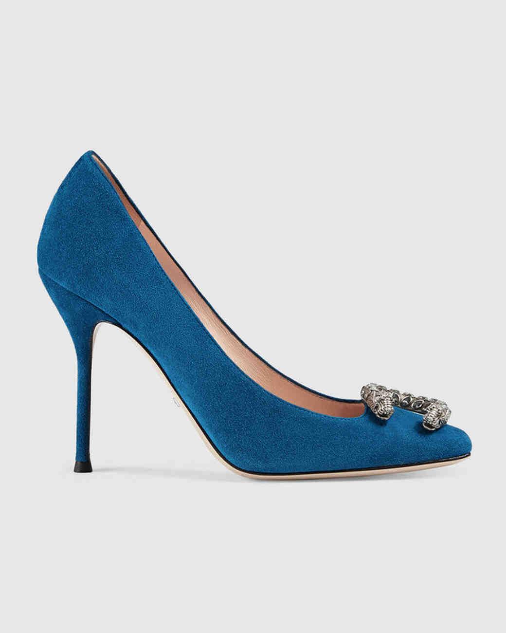 wedding shoes suede pump