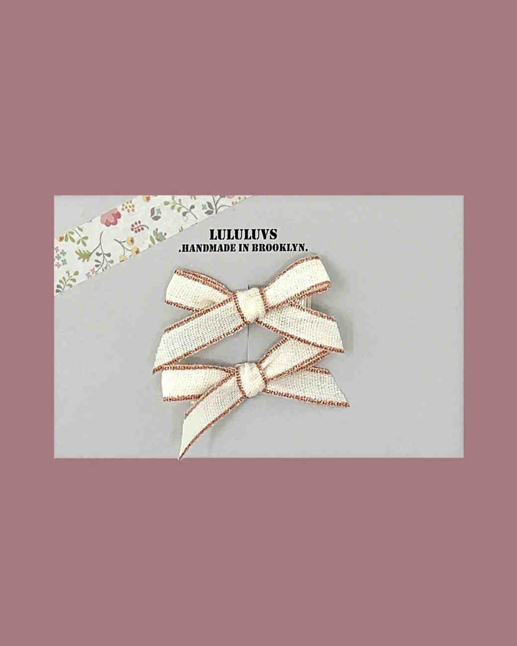 LuluLuv's Ribbon Bow Set