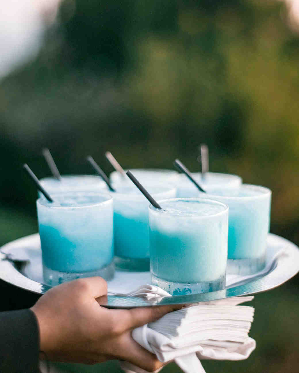 blue frozen drinks