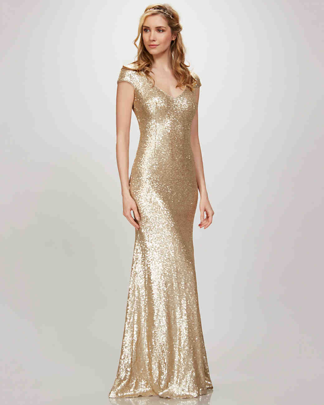 Buy Bridesmaid Gold dress pictures pictures trends