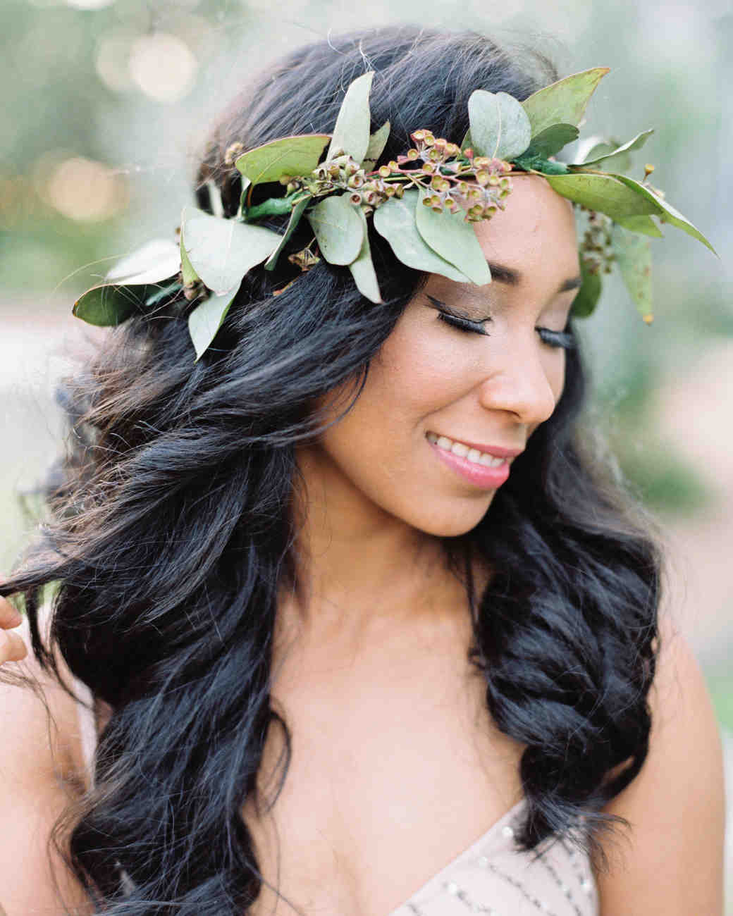 greenery crowns michelle boyd photography