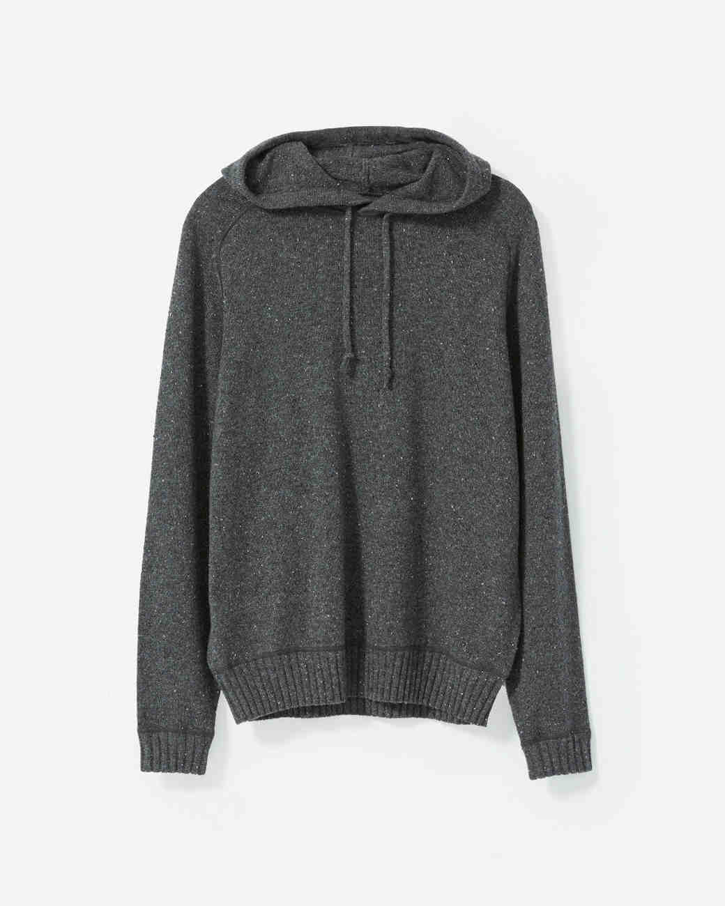 groom gift guide everlane cashmere hoodie