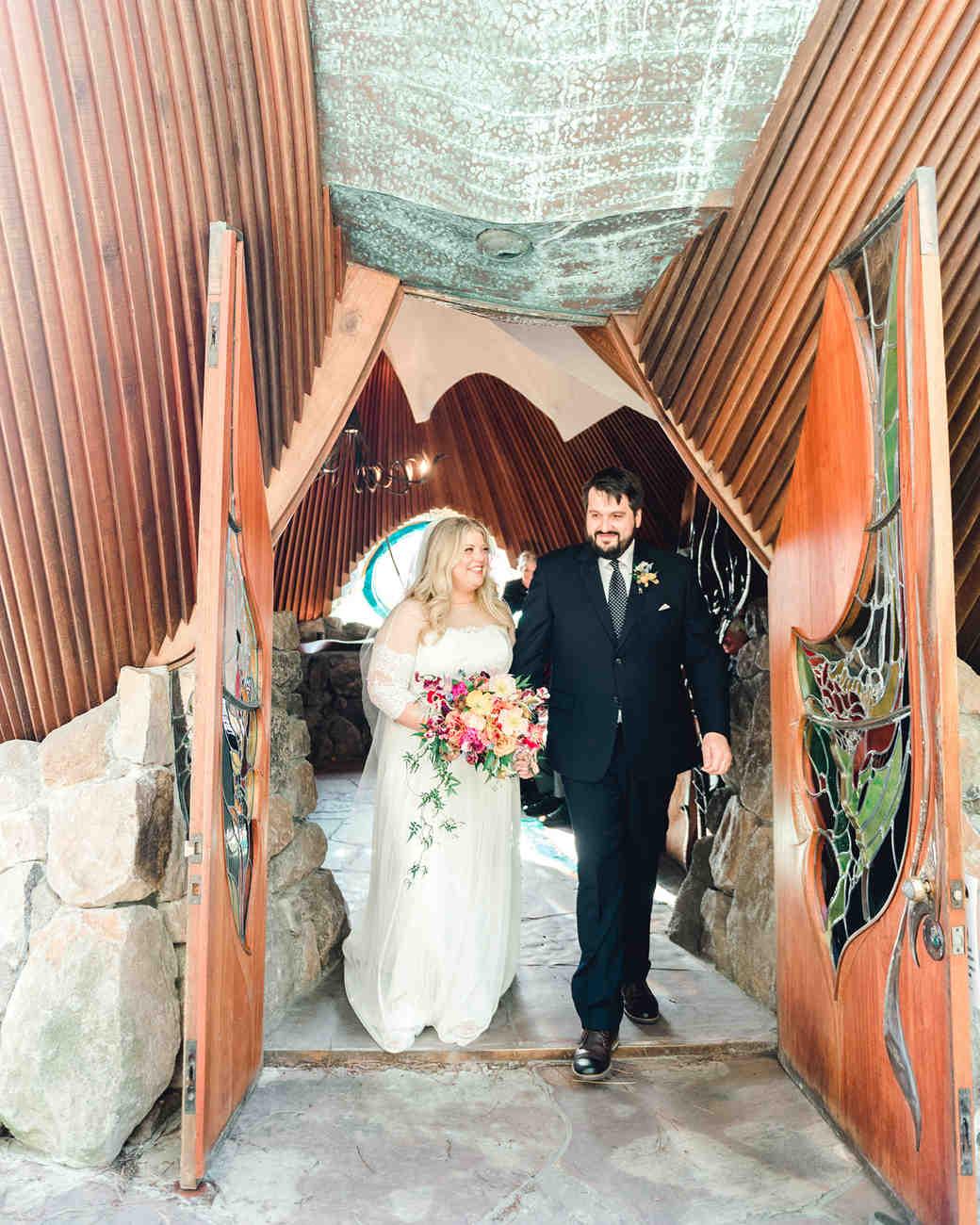 johanna erik wedding ceremony recessional