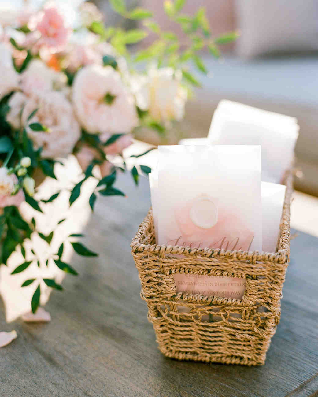 texas wedding toss bags