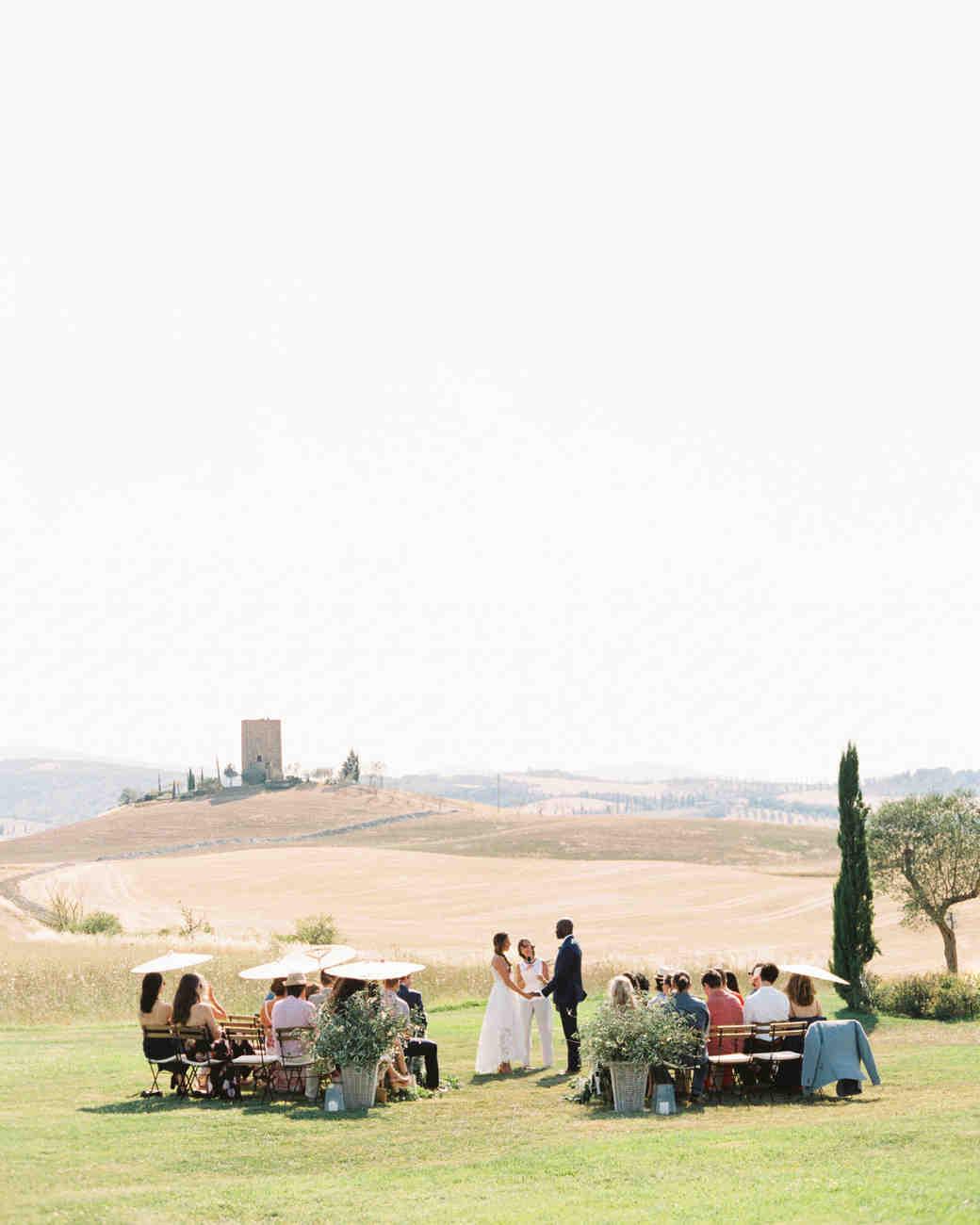leila joel wedding ceremony