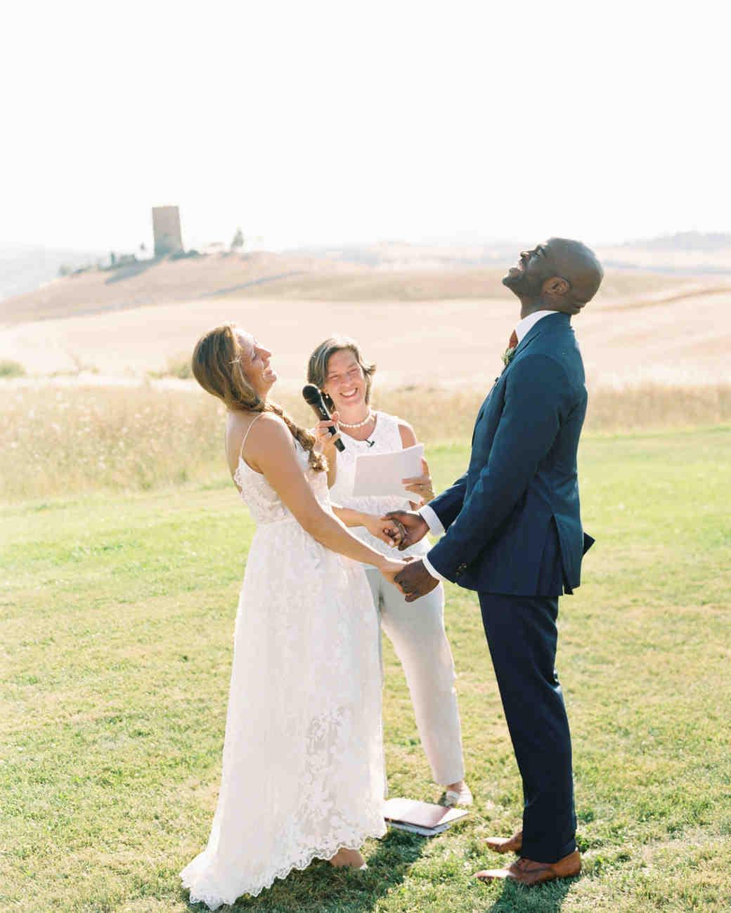 leila joel wedding ceremony vows