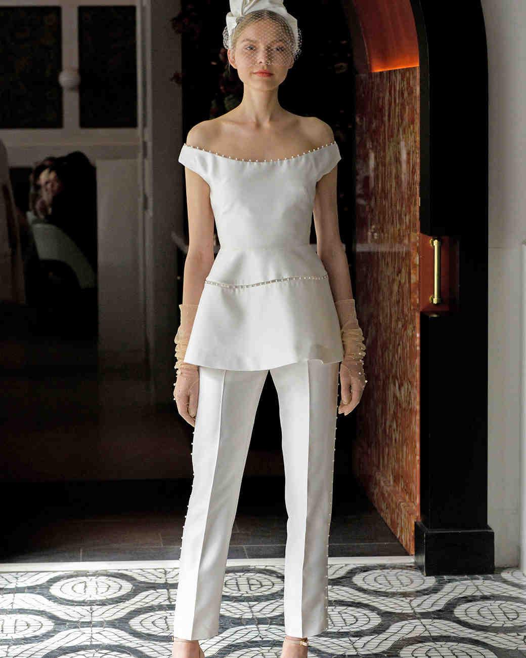 Dress white pants for women