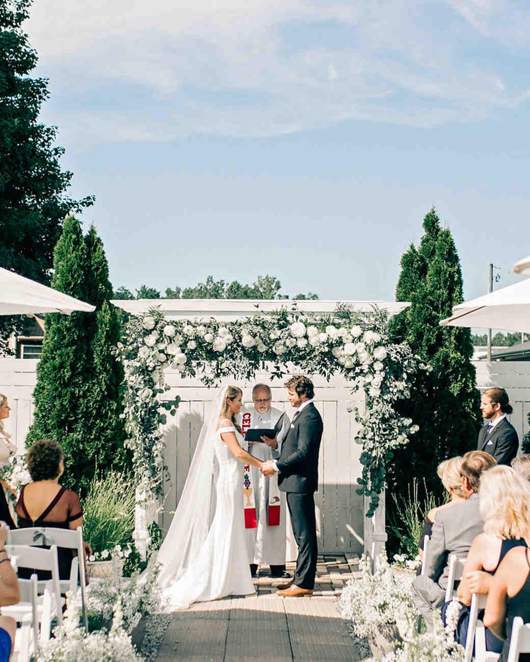 maggie zach wedding ceremony