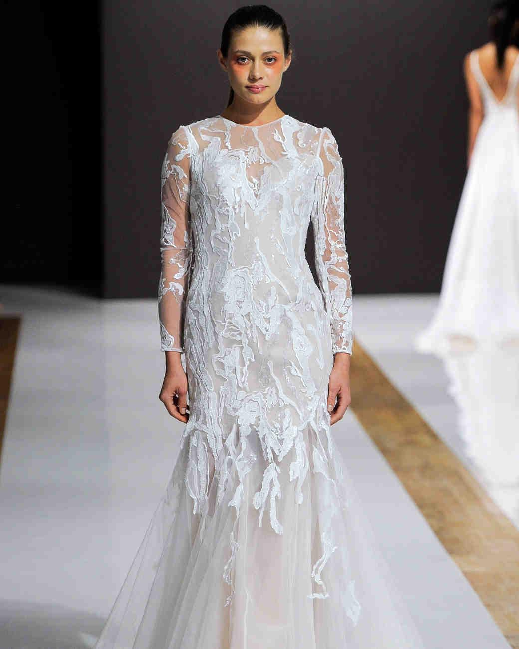 Mark Zunino Fall 2018 Wedding Dress Collection | Martha Stewart Weddings