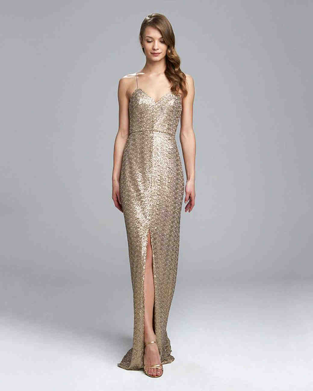 Metallic Bridesmaid Dresses That You Can Wear Over and Over Again ...