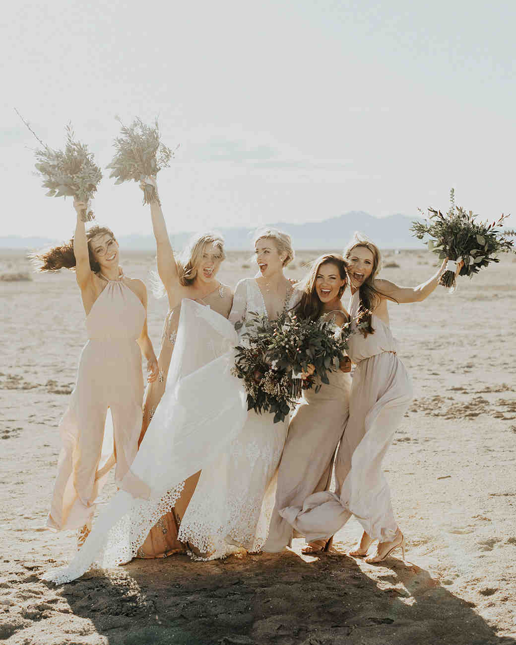 221df46d61fb 28 Mismatched Bridesmaids Dresses from Real Weddings - Best Mix and Match Bridesmaids  Dresses
