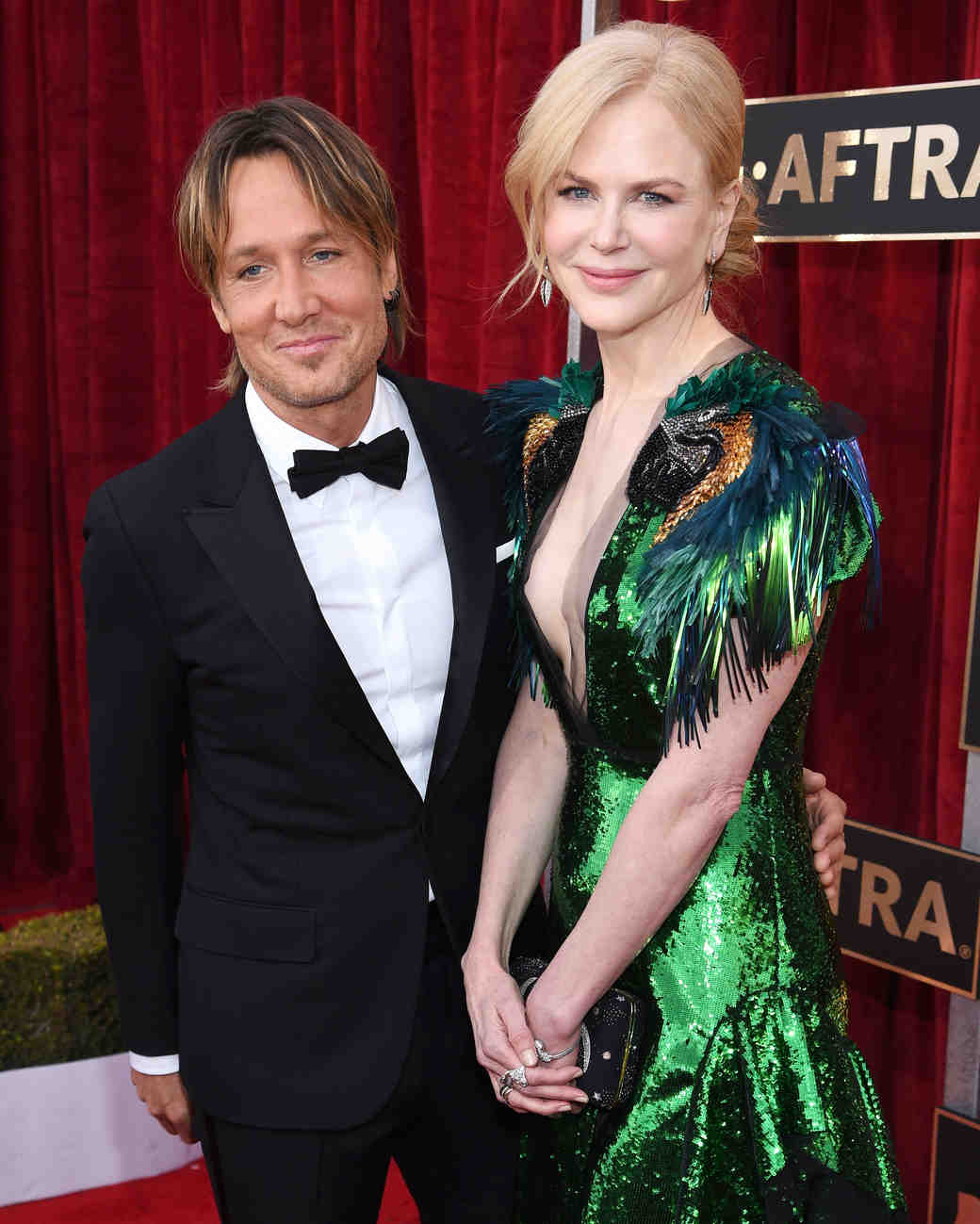 Nicole Kidman and Keith Urban Sag Awards 2017