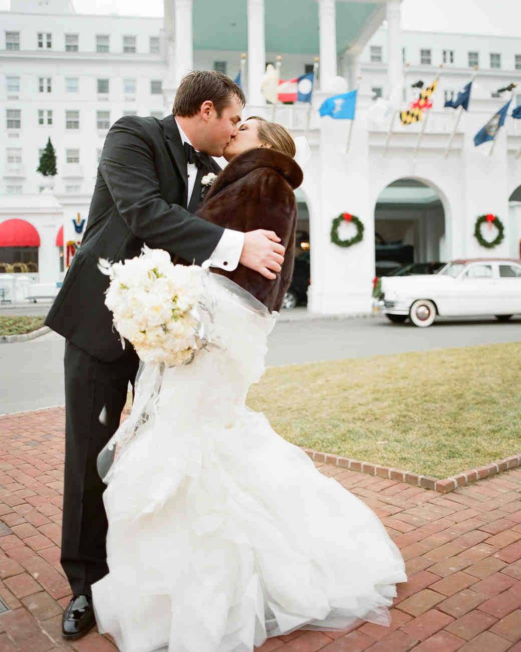 A Magical Christmas-Themed Wedding In West Virginia | Martha Stewart ...