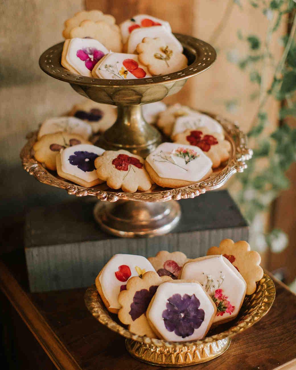 Pressed Floral Cookies