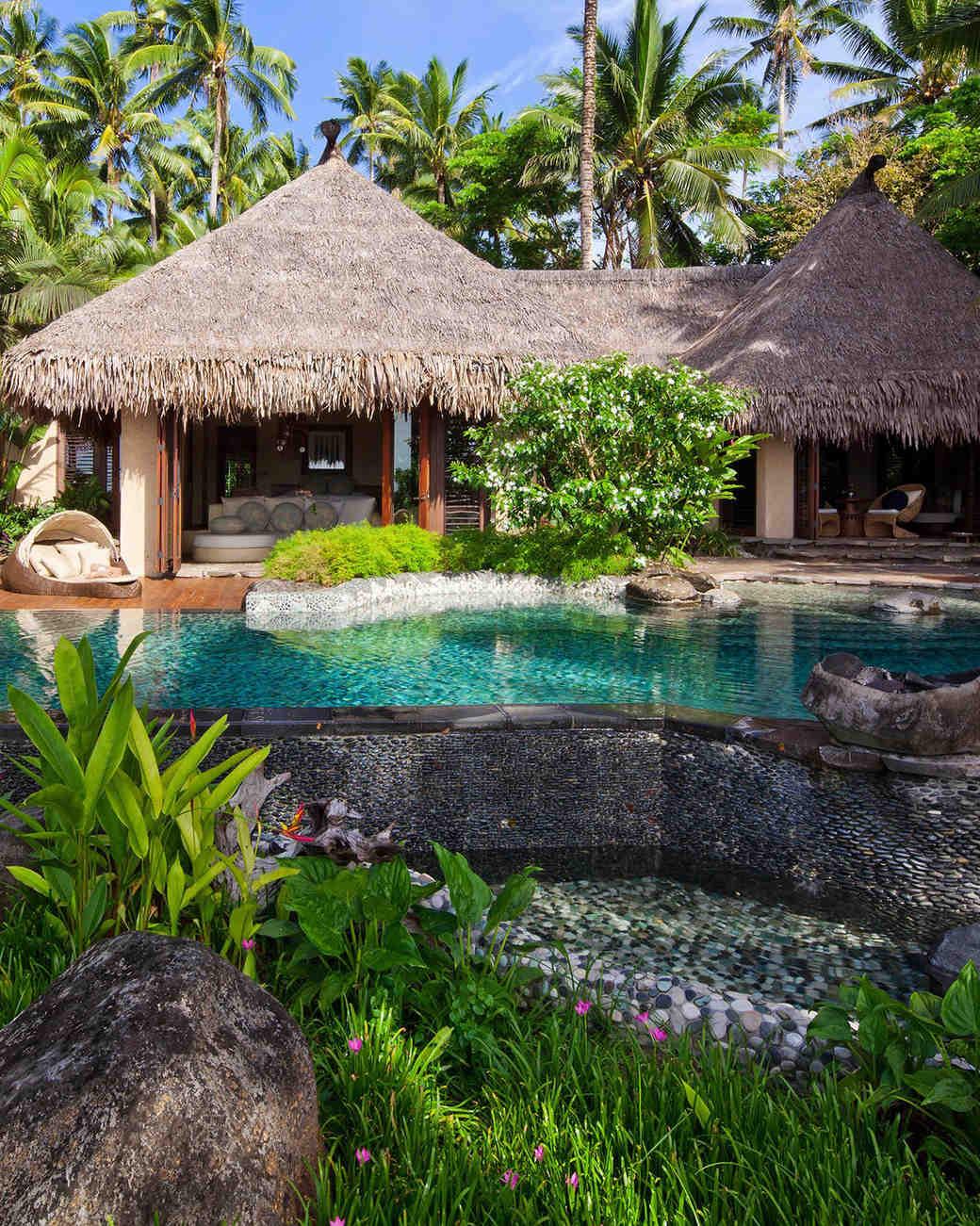 private island honeymoons laucala village