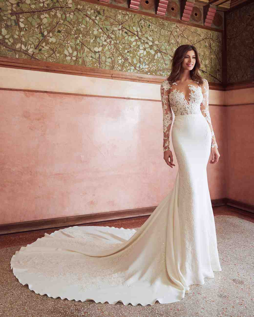 Pronovias X Kleinfeld Fall 2019 Wedding Dress Collection Martha