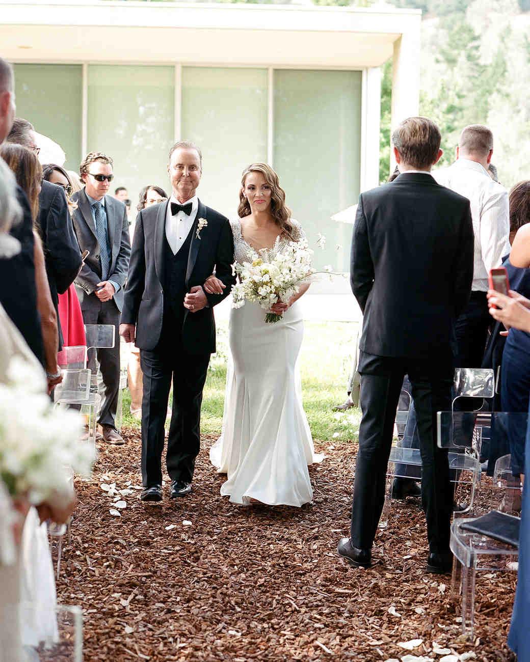 rae rob wedding precessional