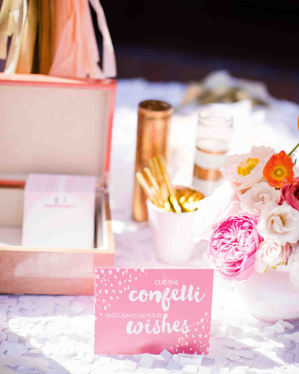 A Pink, Kate Spade-Inspired California Wedding | Martha Stewart Weddings