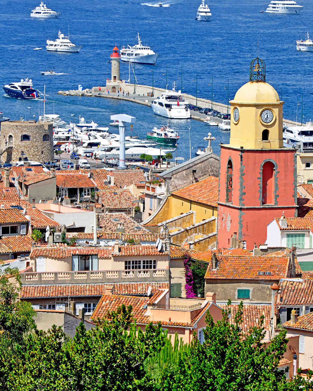 romantic destinations france saint tropez
