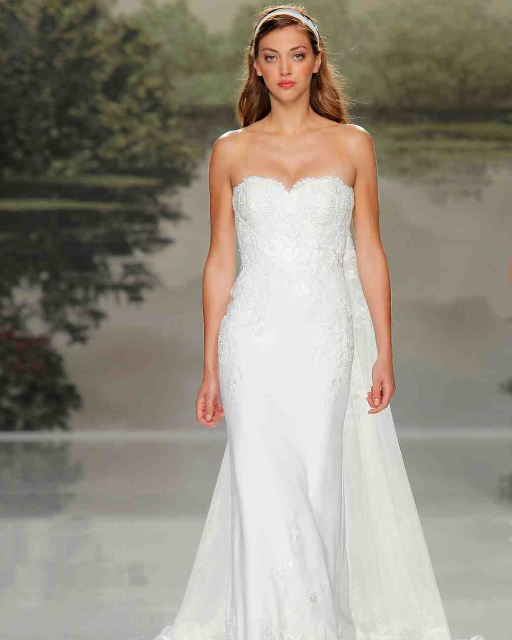 st patrick high neckline spring 2018 wedding gown