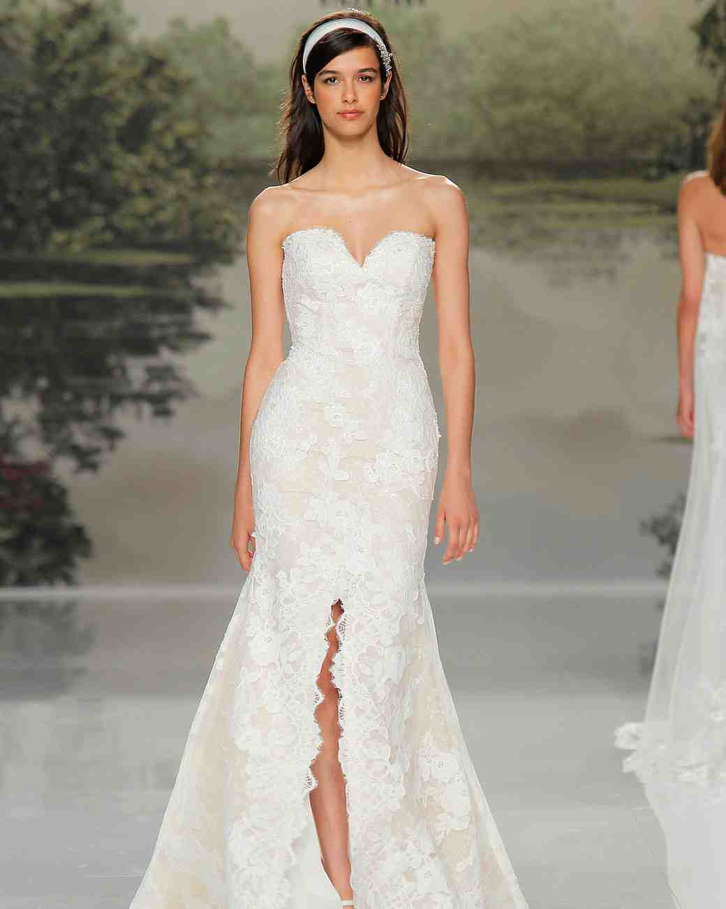 st patrick sweetheart lace spring 2018 wedding gown