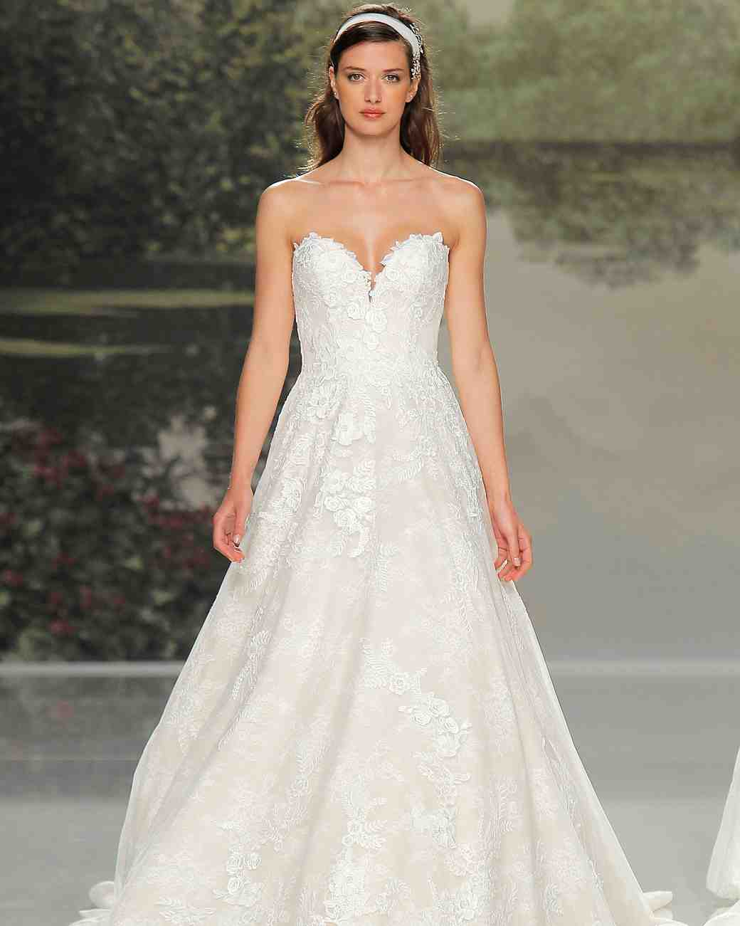 st patrick sleeveless lace spring 2018 wedding gown
