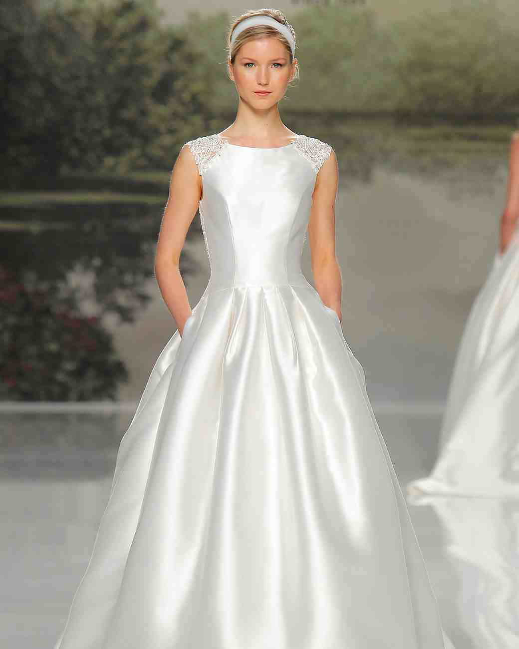 st patrick spring 2018 wedding gown