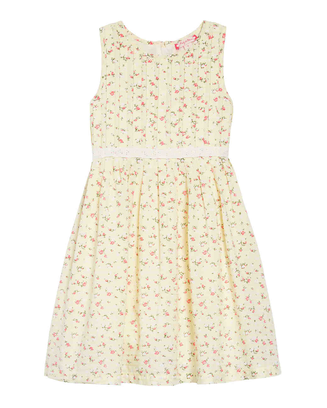 summer flower girl outfit yellow dress