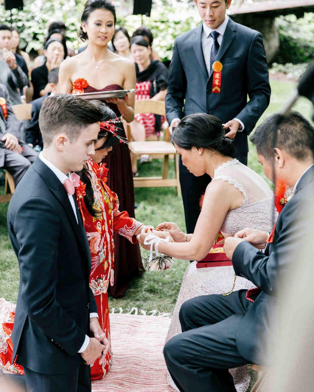 Chinese tea ceremony history wedding dress
