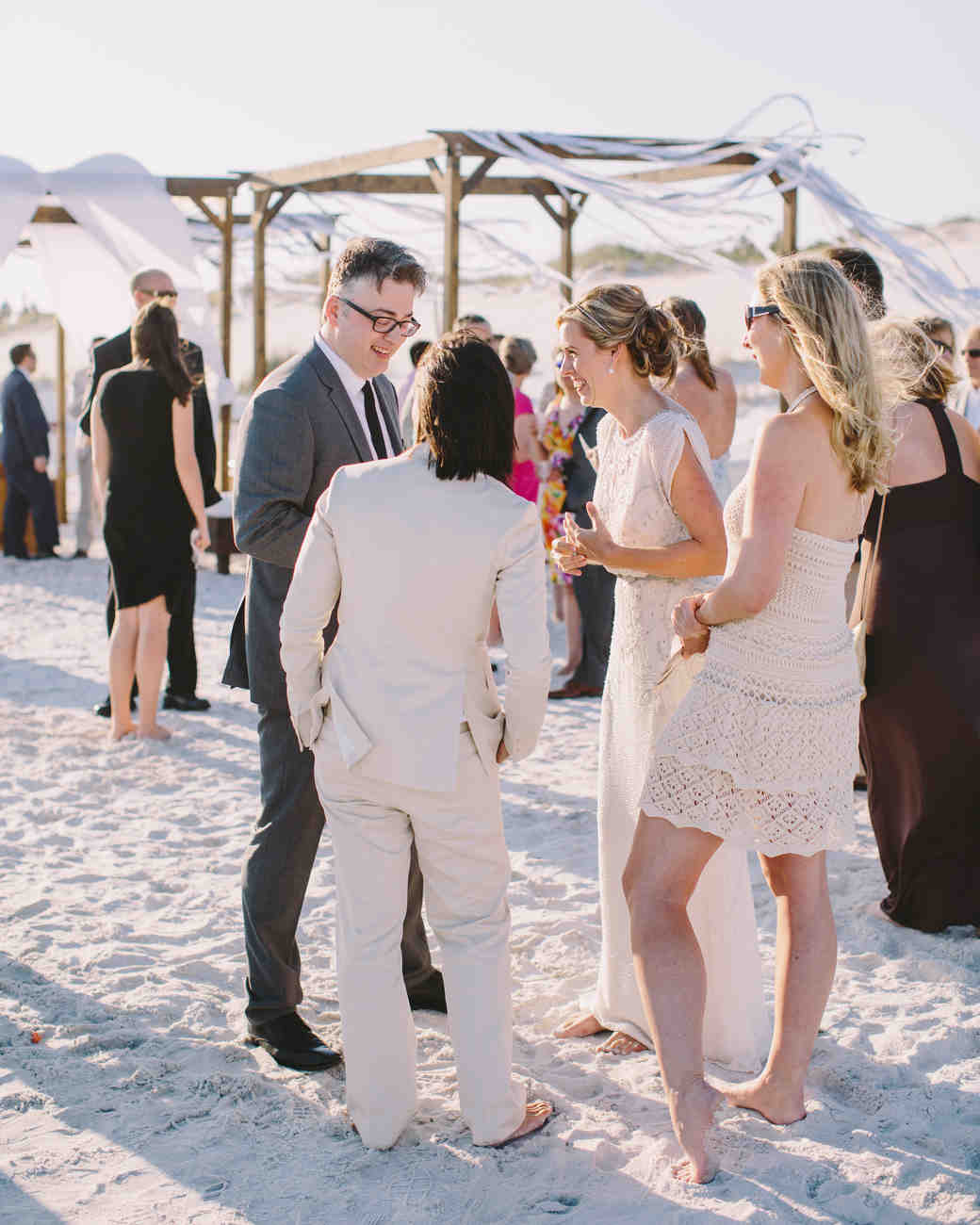 10 Tips For Putting Together A Wedding Guest List Martha Weddings