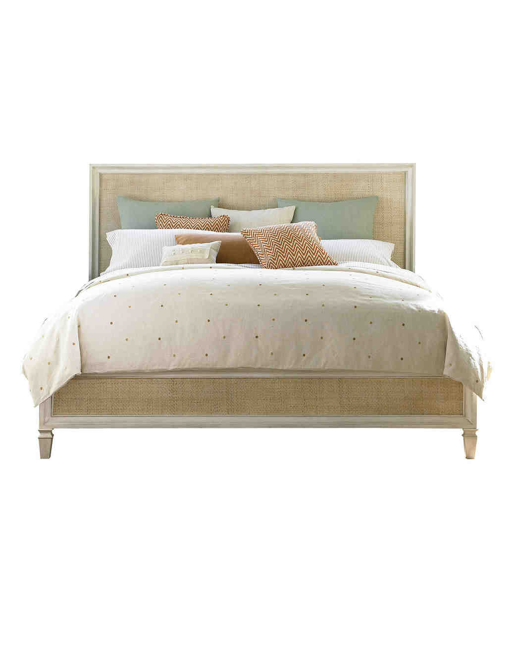 willow anniversary gift rattan bed sheets