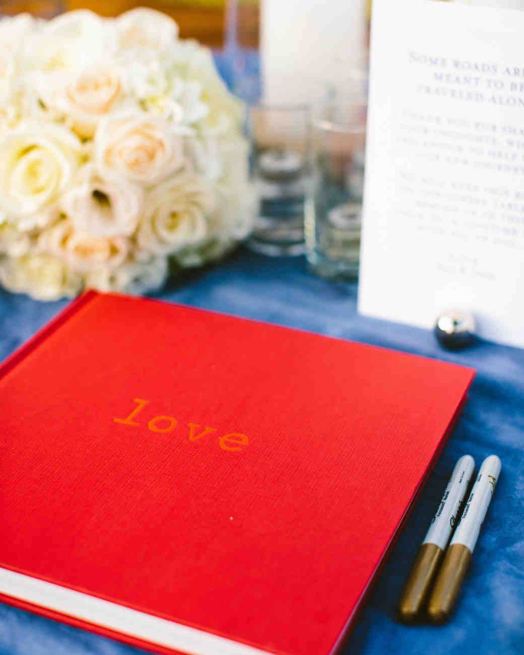 Coffee-Table Book Guest Book