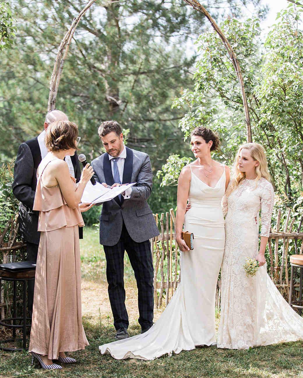 allison aimee wedding ceremony reading
