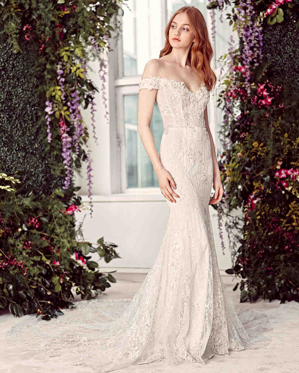 alyne by rita vinieris off-the-shoulder embroidered wedding dress spring 2020
