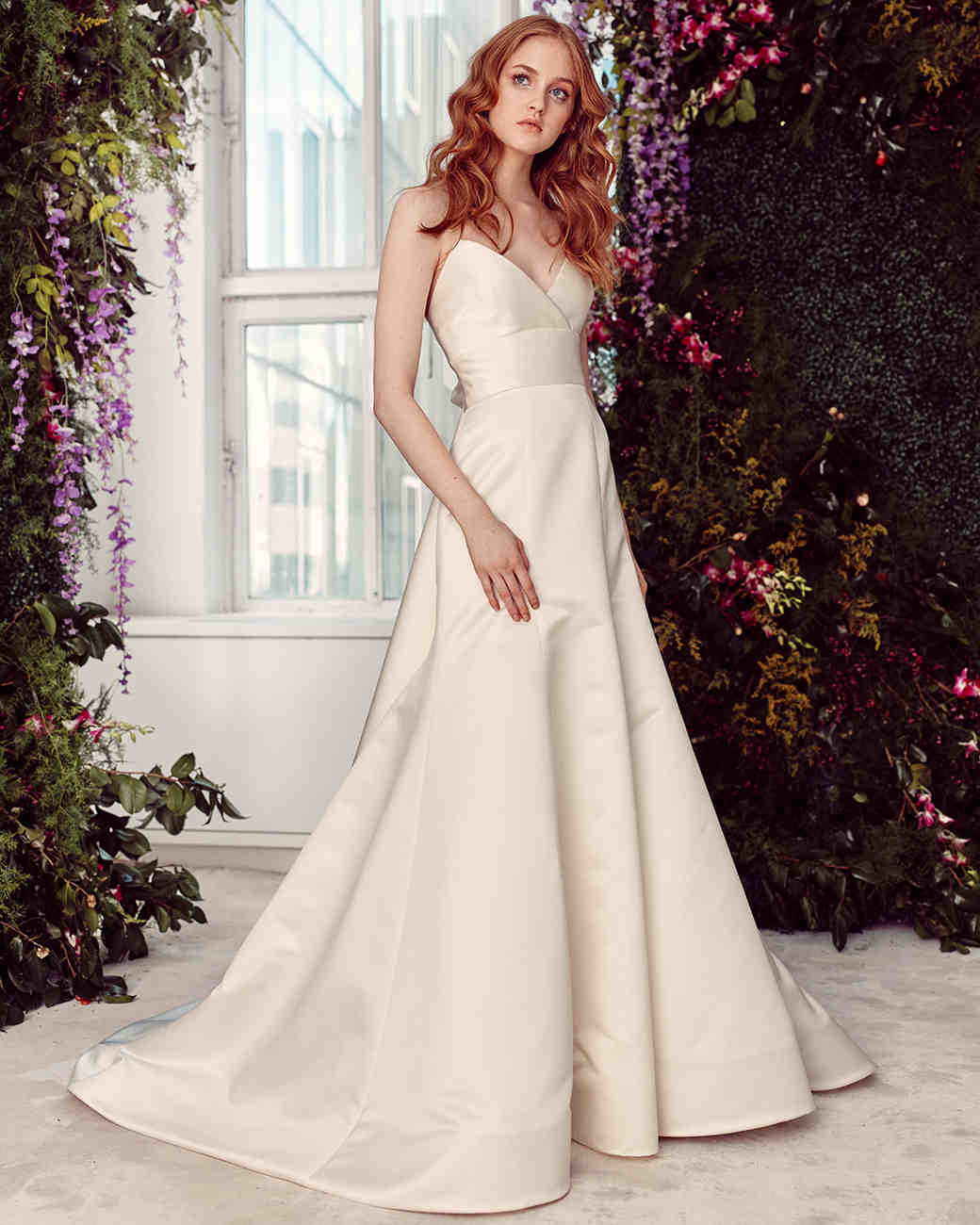 alyne by rita vinieris strapless a-line with sash wedding dress spring 2020