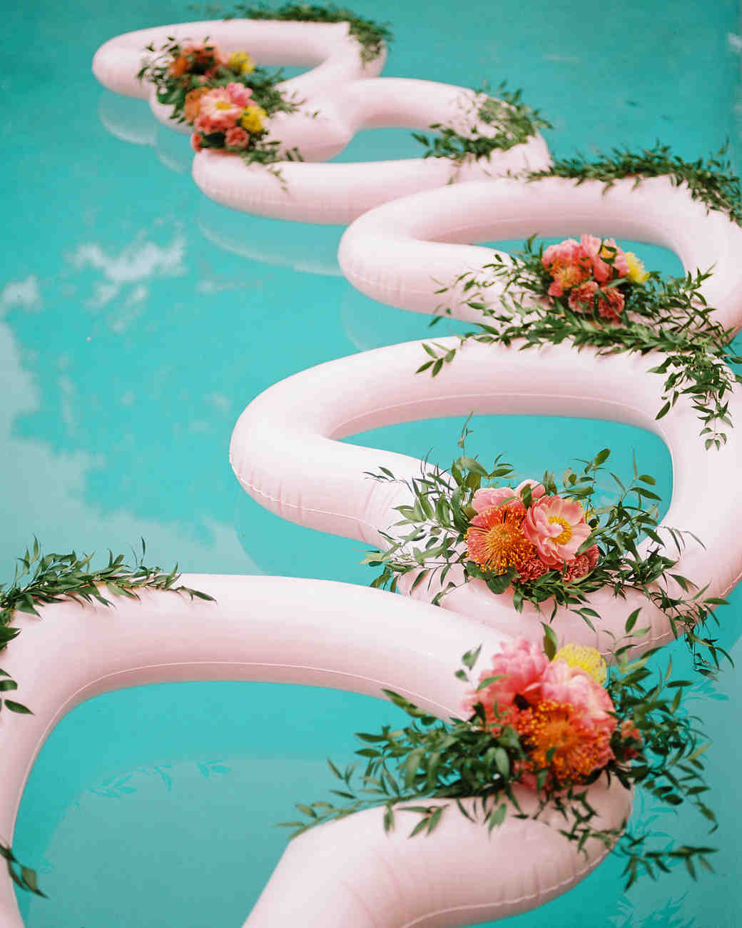 amy mark california pool floats heart